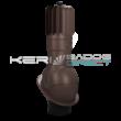 Légáramlásnövelő szellőző<br>síklemezfedés, Lindab Click rendszer<br>Ø150mm