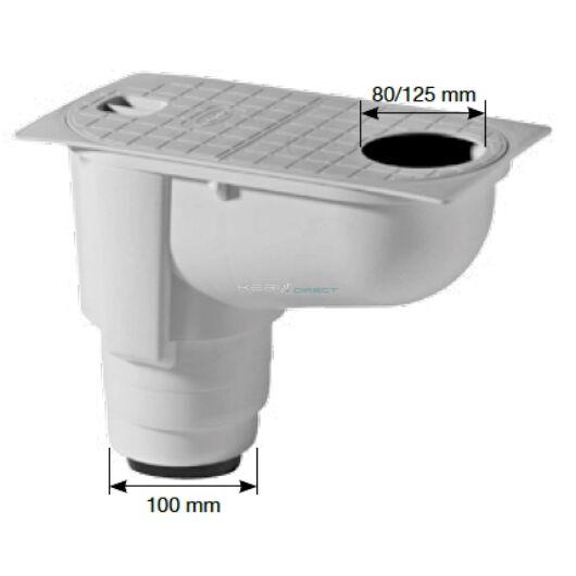 Csapadékvízszűrő Ø80-125mm