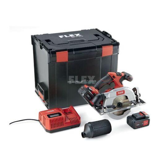 FLEX akkumulátoros körfűrész CS 62 18.0-EC/5.0 SET