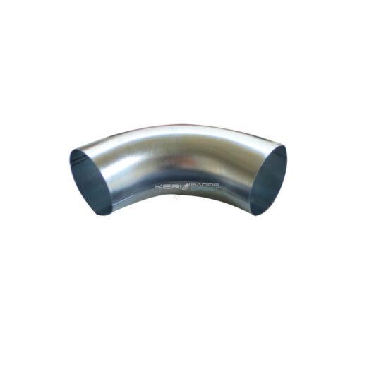 Alumínium préselt könyök 100/40°