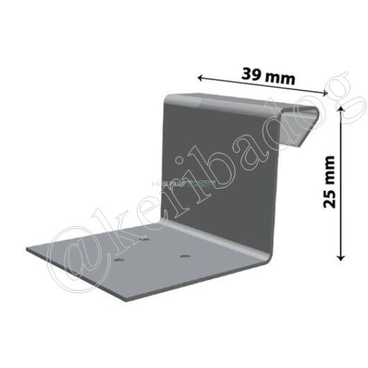 Fix aluminium hafter - állóférc 25mm 100db