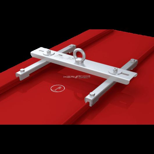 ABS biztonsági kikötési pont állókorcos lemezfedéshez - dupla