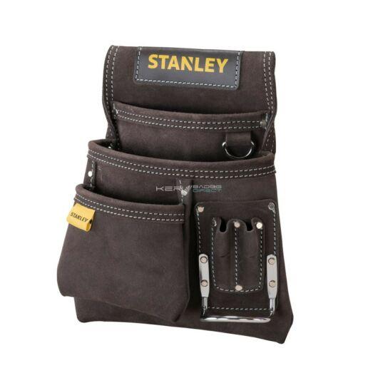 Stanley bőr szegtáska kalapácstartóval