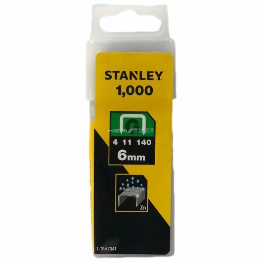 """Stanley Tűzőkapocs """"G"""" 6mm"""