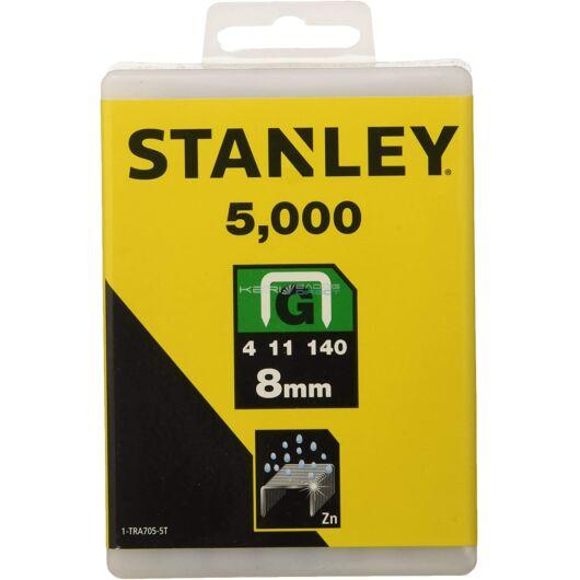 """Stanley Tűzőkapocs """"G"""" 8mm"""