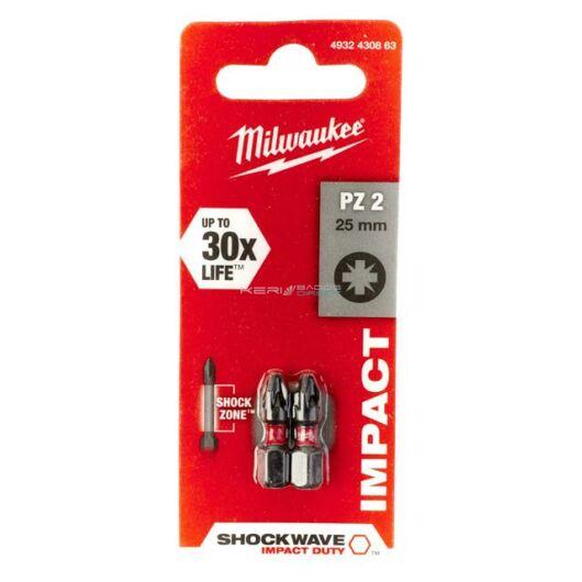 Milwaukee bithegy PZ2 25 mm 1/4col (2 db)