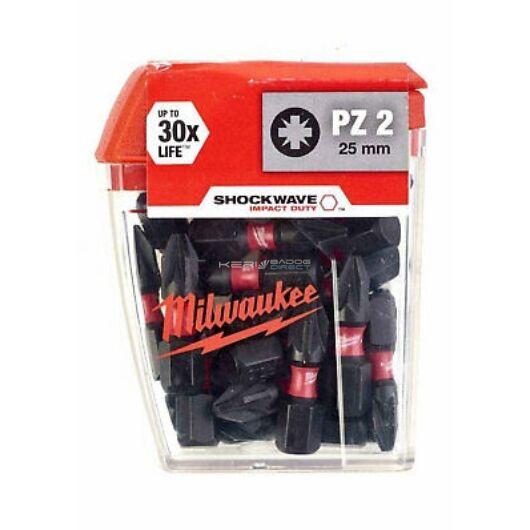 Milwaukee Bithegy PZ2 25 mm (25 db)