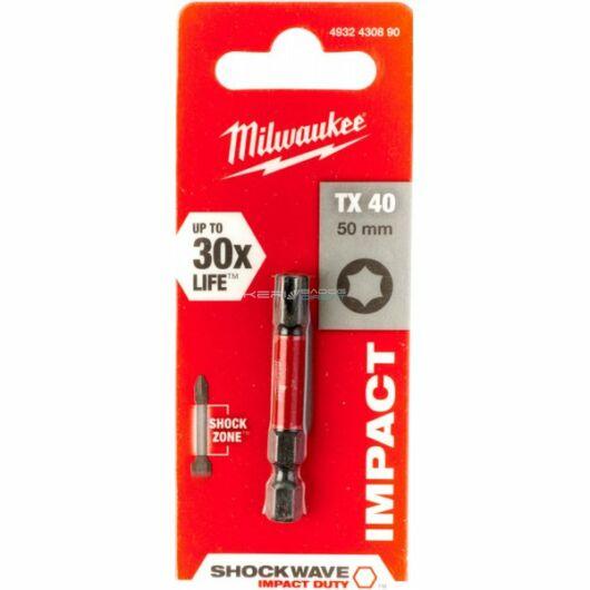 Milwaukee bithegy TX40 50 mm 1/4col