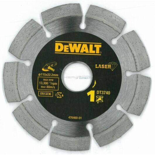 DeWALT gyémánt vágótárcsa 115x22,23 mm szegmentált