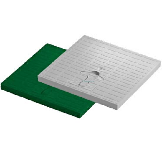 Monolit akna fedél<br>zöld <br>30x30cm