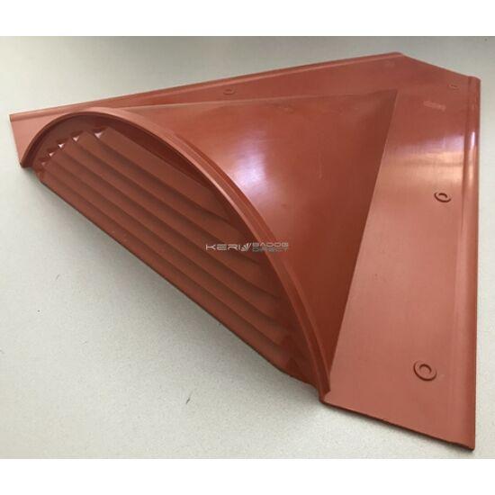 Téglavörös tetőszellőző<br>műanyag