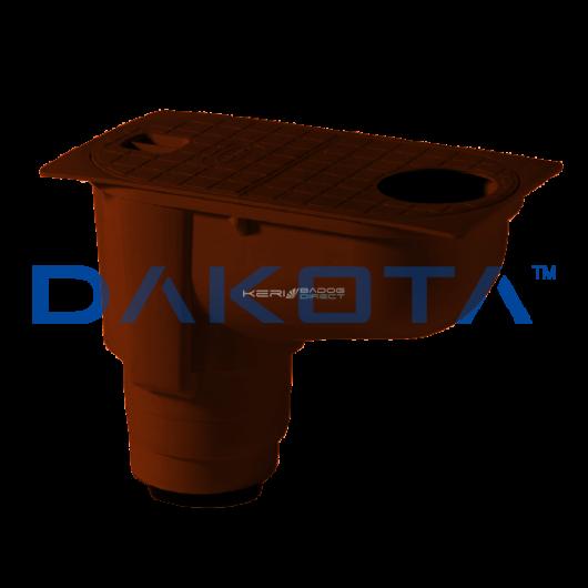 Csapadékvízszűrő Ø80-125mm barna