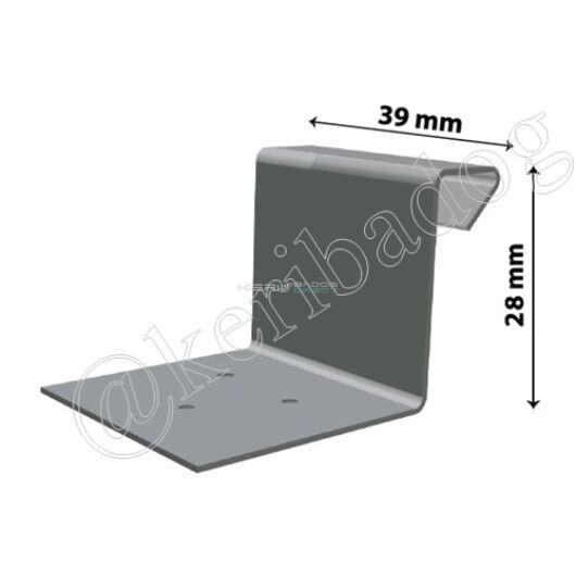 Fix aluminium hafter - állóférc 28mm 100db