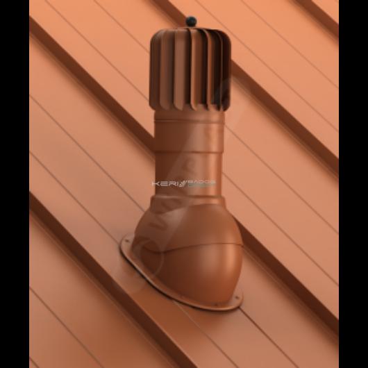 Légáramlásnövelő szellőző síklemezfedés, Lindab Click rendszer Ø125mm