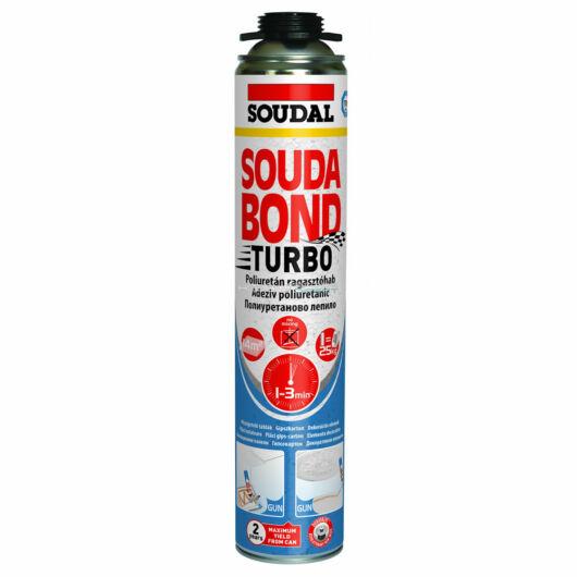 Soudal Soudabond Turbo poliuretán ragasztóhab