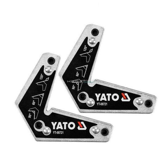 YATO hegesztési munkadarabtartó mágnes