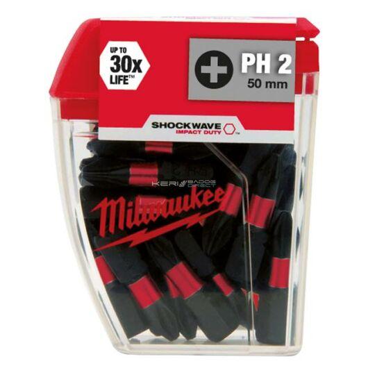 Milwaukee Bithegy PH2 25 mm (25 db)