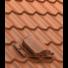 Kép 1/4 - Gravitációs pontszellőző UNI trapézlemez, cserepeslemez Ø150mm